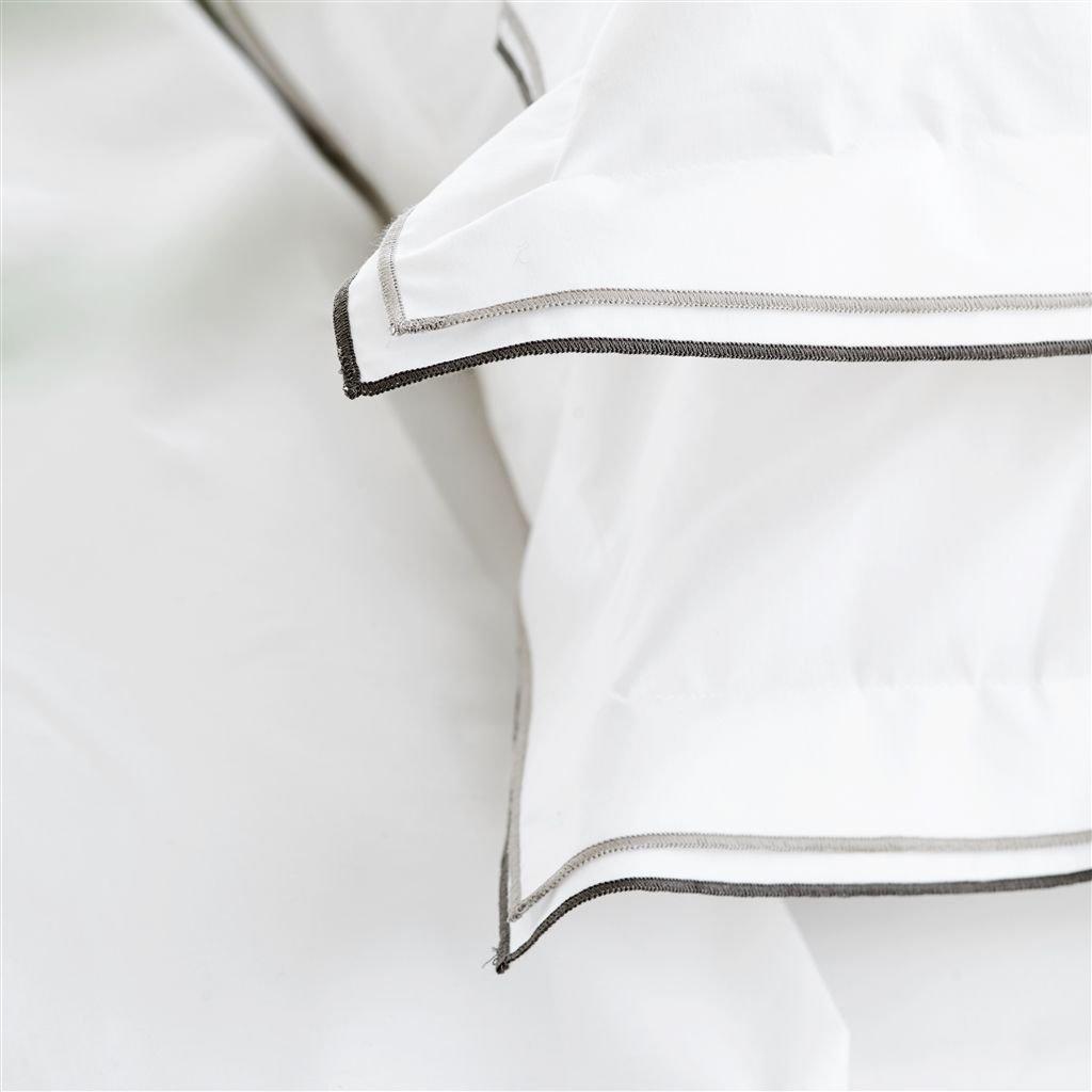 parure de lit astor natural tissus s verine. Black Bedroom Furniture Sets. Home Design Ideas